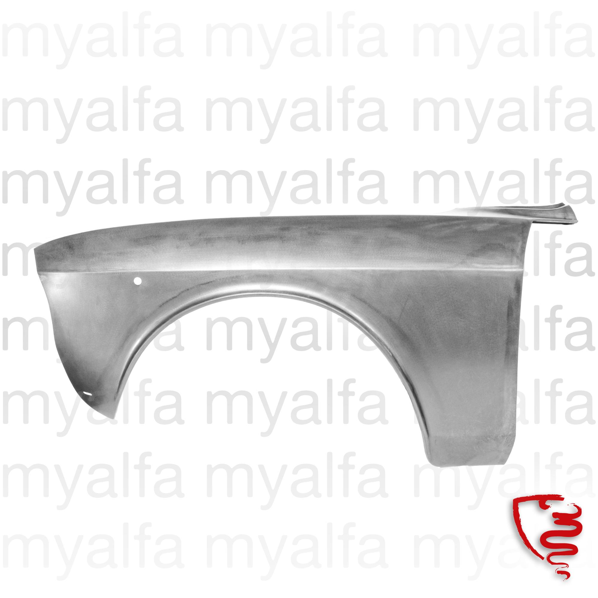 Panel Lamas Guard - Front esq.º for 105/115, Coupe, Body parts, Panels, Front fenders