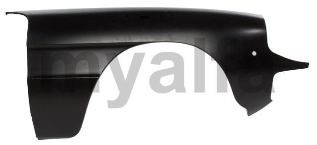 Panel front guard llamas right Spider 1966-82 for 105/115, Spider, Body parts, Panels, Front fenders