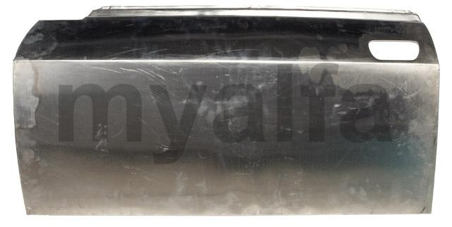 Door left aluminum GT Bertone for 105/115, Coupe, Body parts, Panels, Front fenders