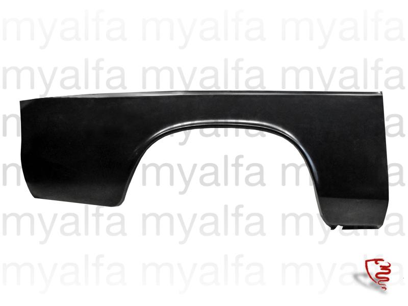 Repair panel rear guard drt sludge. for 105/115, Coupe, Body parts, Panels, Rear fenders