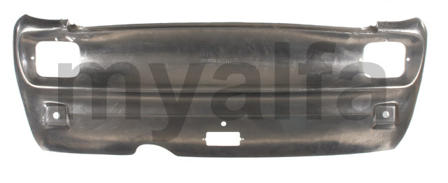 Back panel GT bertone 1300 - 1750 Aluminum for 105/115, Coupe, Body parts, Panels, Rear