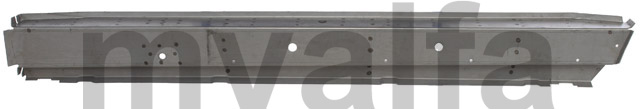 Sill inner Spider - Left for 105/115, Spider, Body parts, Panels, Sills