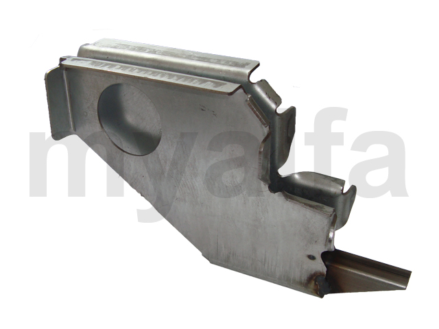 Support fitting monkey w / Giulia and spider 66-86 - Rear for 105/115, Spider, Body parts, Panels, Sills