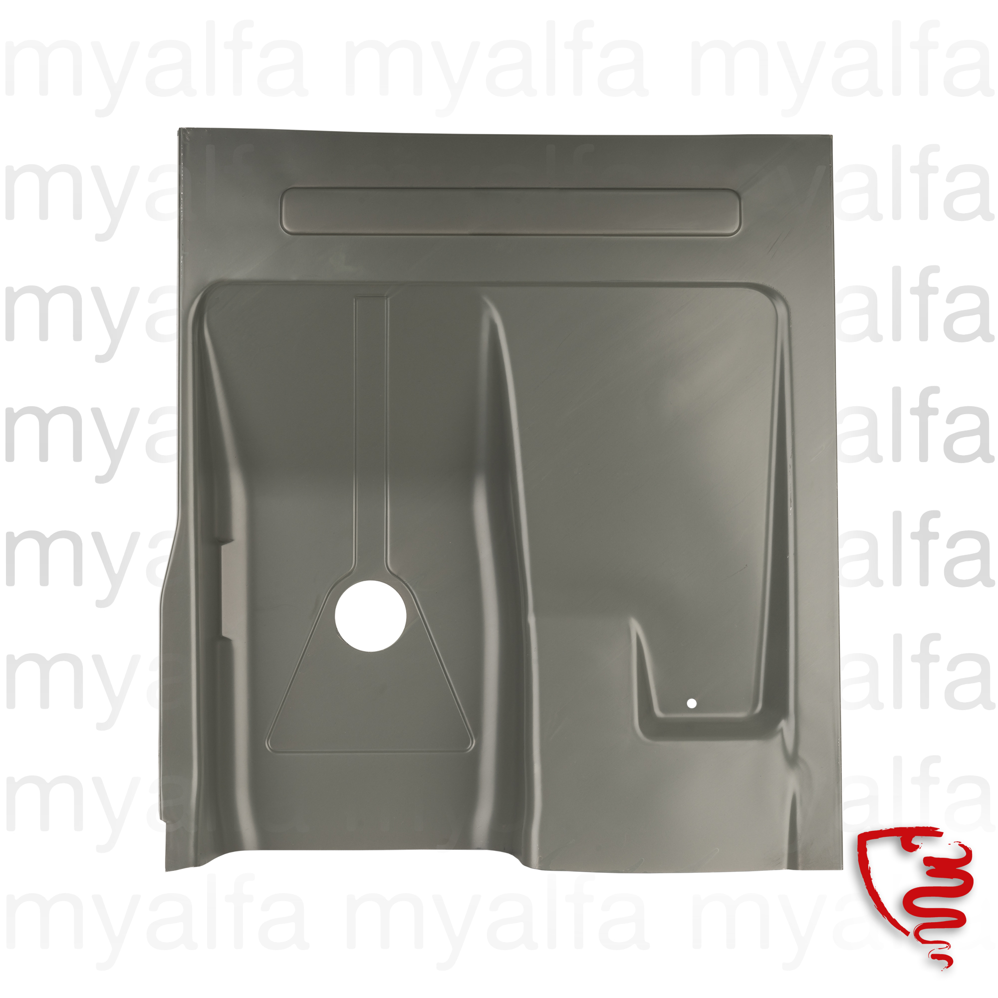 Panel floor right behind Spider 1970-93 for 105/115, Spider, Body parts, Panels, Floor