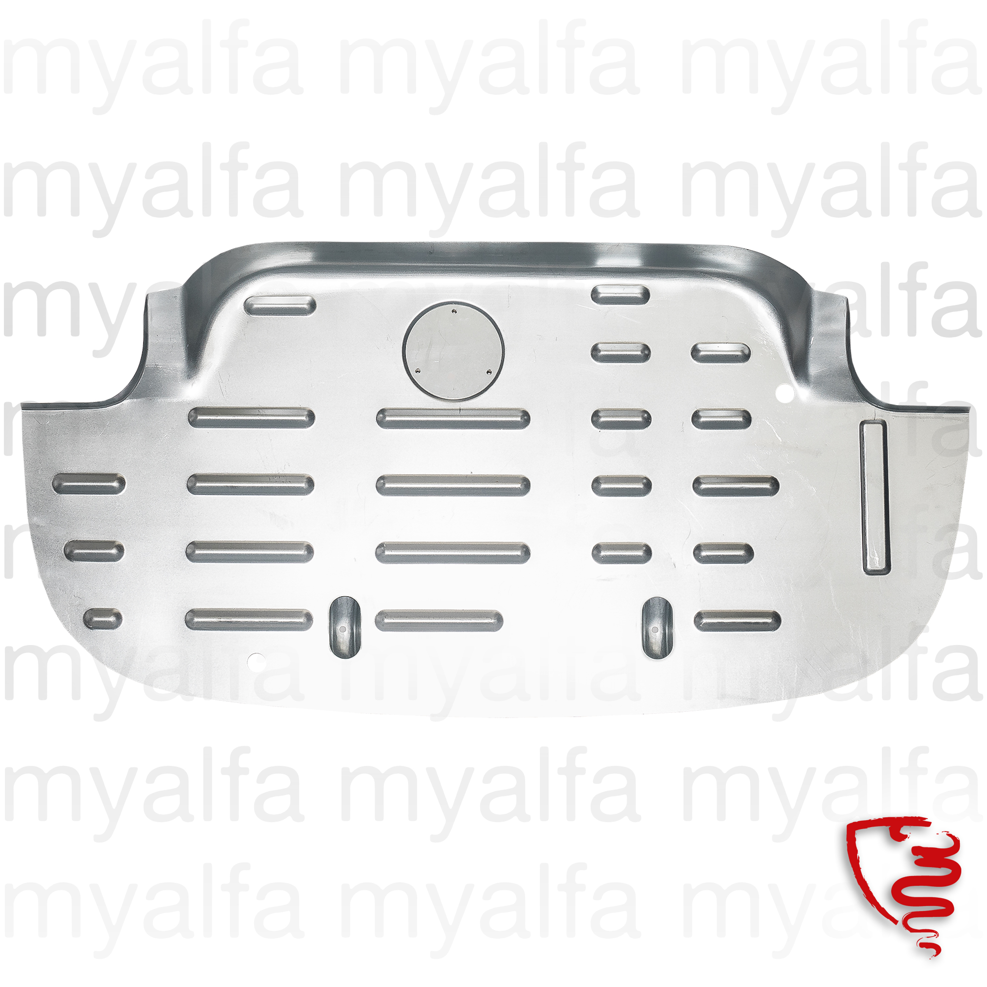 bag bottom panel Sprint 750/101 for 750/101, Giulietta Sprint, Body parts, Panels, Rear