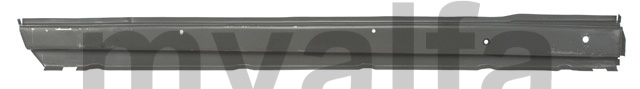 Interior panel sill w / GT side drtº for 105/115, Coupe, Body parts, Panels, Sills