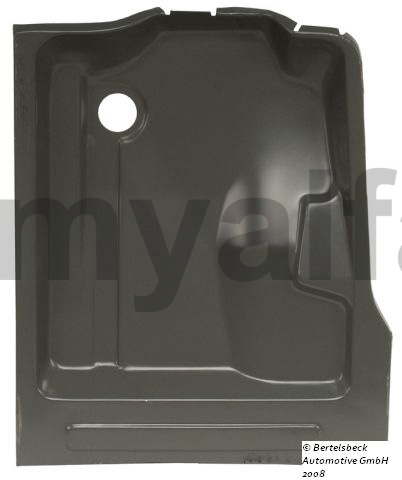 Floor panel front suspension bracket Esqº for 105/115, Coupe, Body parts, Panels, Floor