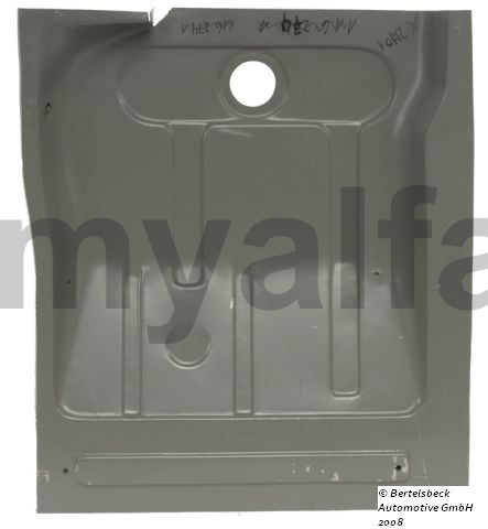Floor panel left behind to seat screws 5 for 105/115, Coupe, Body parts, Panels, Floor