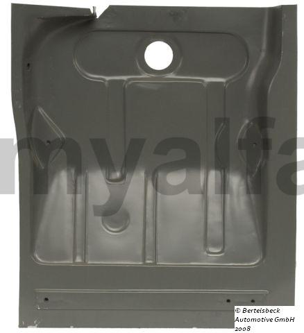 Floor panel Left Behind GT Bertone for 105/115, Coupe, Body parts, Panels, Floor
