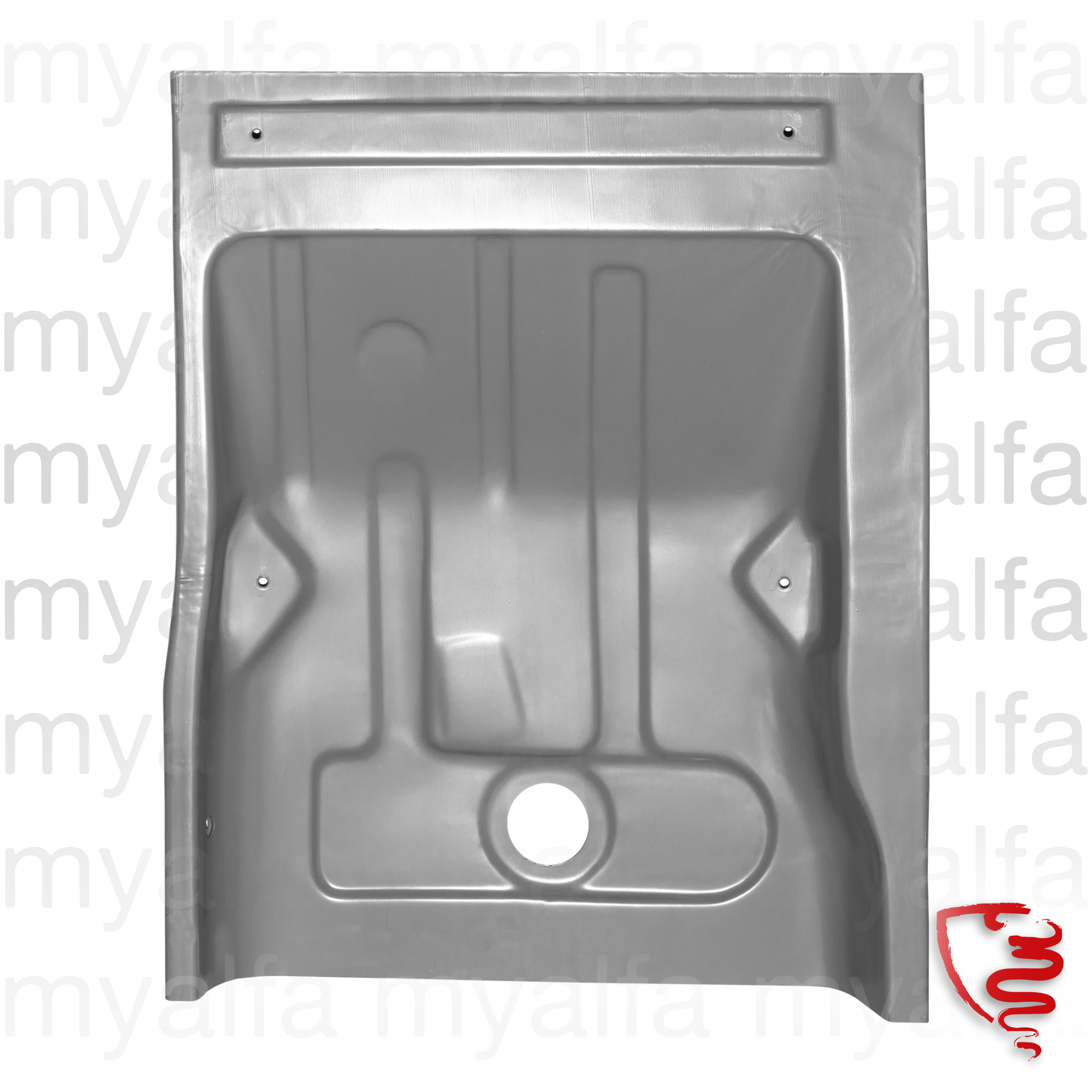 Floor panel Back Right GT Bertone for 105/115, Coupe, Body parts, Panels, Floor