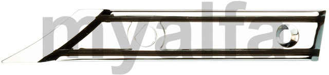 Left hardtop support Spider 1986-93 for 105/115, Spider, Body parts, Chrome Parts, Side