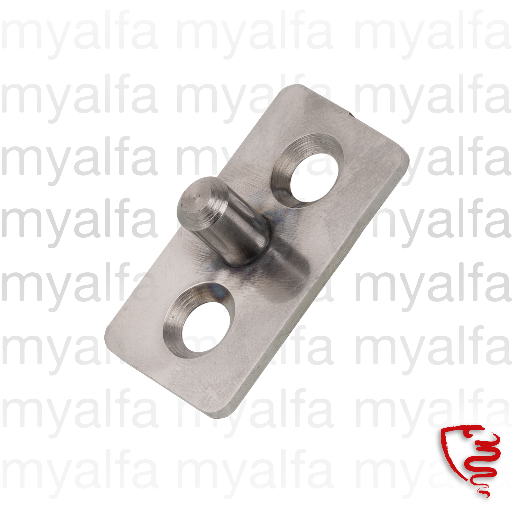 trunk latch holder Spider 750/101 for 750/101, Spider, Body parts, Panels, Rear
