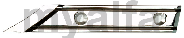 Take left chrome hood Spider - 1970-82 for 105/115, Spider, Body parts, Chrome Parts, Side