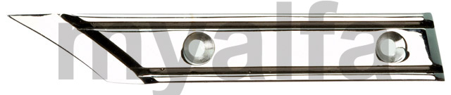 Take right chrome hood Spider - 1970-82 for 105/115, Spider, Body parts, Chrome Parts, Side