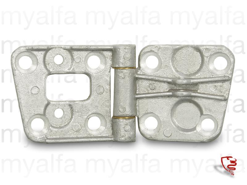 GT door hinge Bertone upper left 2nd series for 105/115, Interior, Doors, Mechanical parts