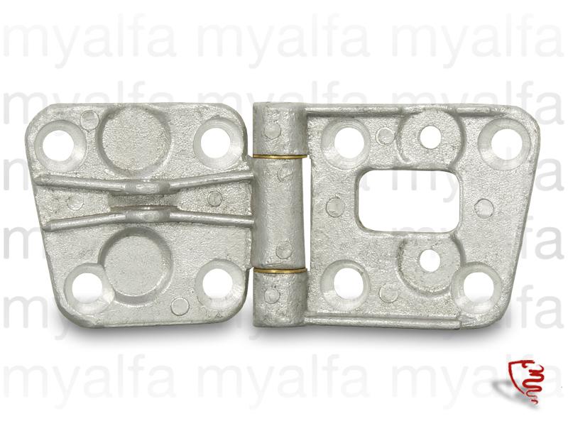 Door hinge GT Bertone 2nd upper right series for 105/115, Interior, Doors, Mechanical parts