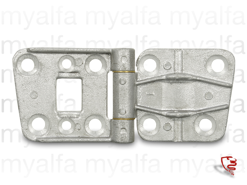 Door hinge GT Bertone1ª upper left series for 105/115, Interior, Doors, Mechanical parts