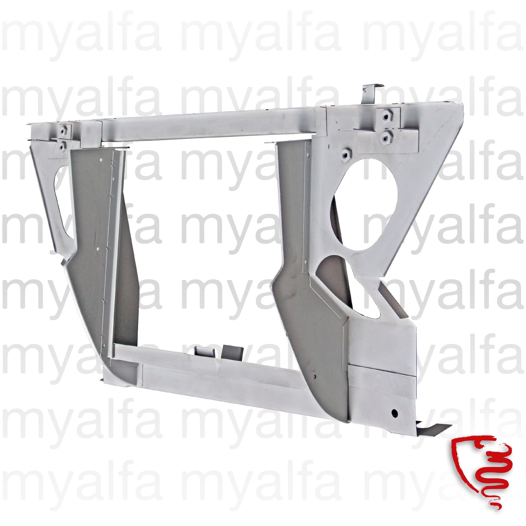 radiator frame GT Bertone - 2nd Grade for 105/115, Coupe, 2000, Body parts, Panels, Engine compartment