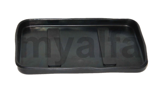 Support battery bottom in rubber for 750/101 for 750/101, Electrical system, Battery attachments