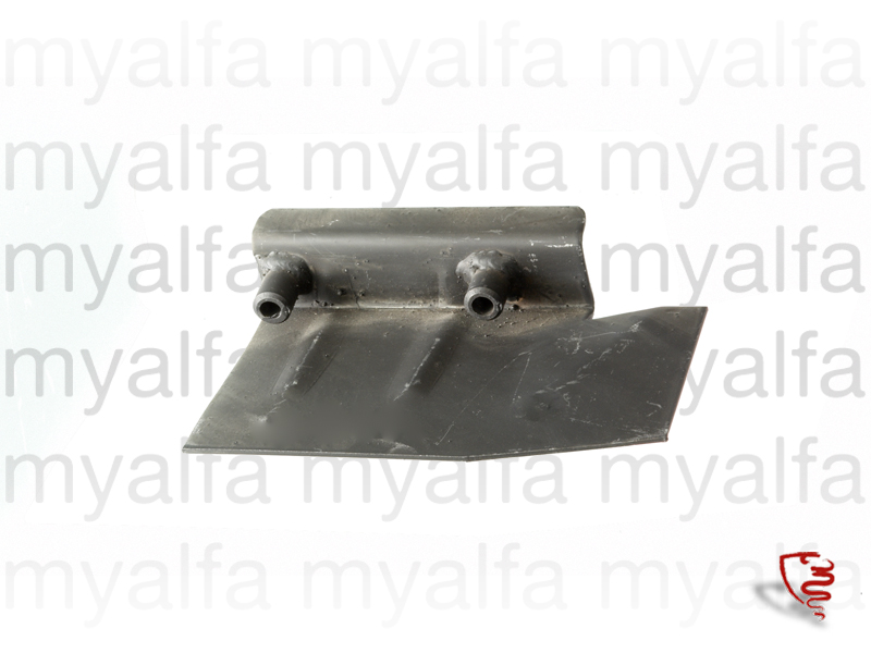 Part of the support assembly braces the differential Esqº for 105/115, Coupe, Body parts, Panels, Rear fenders