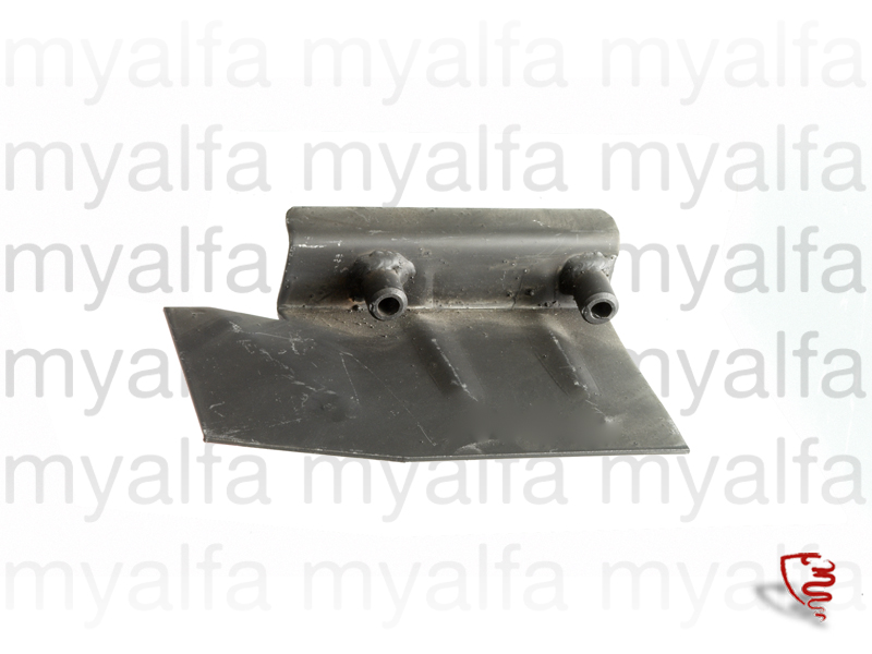 Part of the support assembly braces the differential dt for 105/115, Coupe, Body parts, Panels, Rear fenders