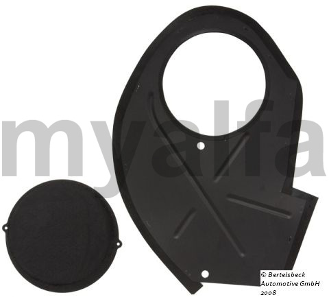 Tampa protection cava wheel frt side. dto.- 66-89 spider for 105/115, Spider, Body parts, Panels, Front fenders