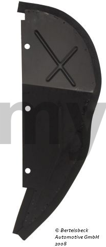 Tampa cava wheel guard back side esq.- spider 66-89 for 105/115, Spider, Body parts, Panels, Front fenders