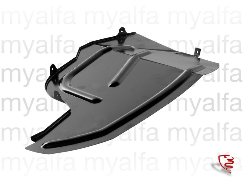 Tampa protection sludge cava wheel frt side. - esq. GTV6 for 116/119, Alfetta GTV6, Body parts, Panels, Front fenders