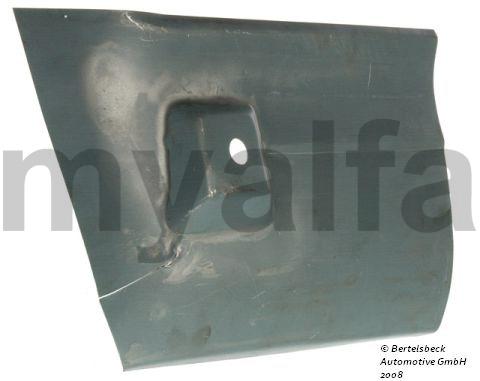rear fender repair panel Esqº for 105/115, Coupe, Body parts, Panels, Rear