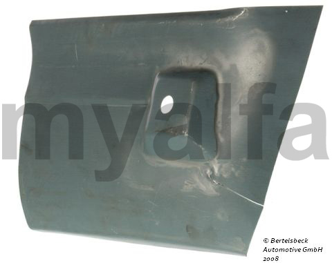 Panel rear fender repair dt for 105/115, Coupe, Body parts, Panels, Rear