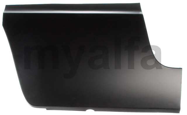 fender repair panel rear - side front dt for 105/115, Spider, Body parts, Panels, Rear