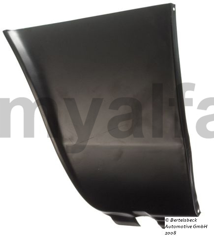 repair panel left front guard llamas. pillar for 105/115, Coupe, Body parts, Panels, Front fenders