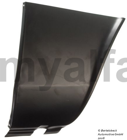Panel Repair guard llamas front right. pillar for 105/115, Coupe, Body parts, Panels, Front fenders