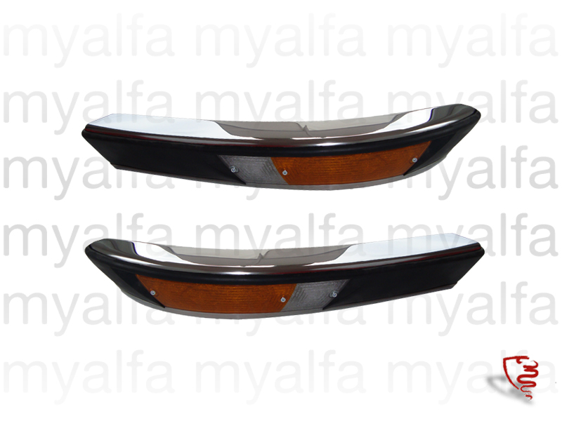Game bumper / R c front / rear lights - Spider 70/82 for 105/115, Spider, Body parts, Chrome Parts, Front