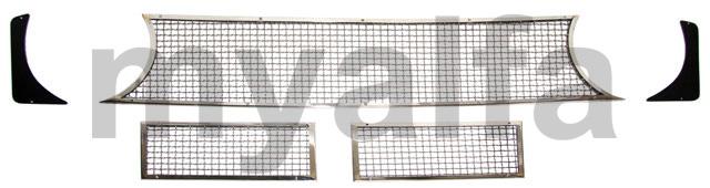 Kit Grid GTA 5 parts for 105/115, Coupe, GTA, Body parts, Body parts, Chrome Parts, Front