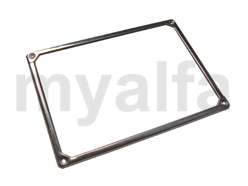 Frame Registration back for 105/115, Coupe, Body parts, Chrome Parts, Rear