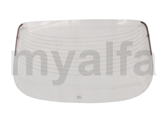 Rear window w / w strength / GT Bertone - Transparent for 105/115, Coupe, Body parts, Glass Parts, Front/Rear Windows