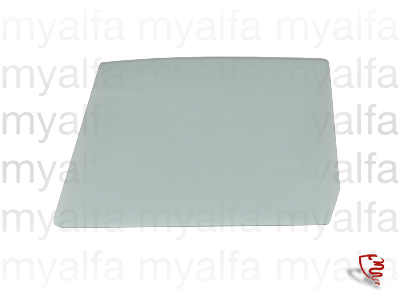 Glass of port p / GT Bertone - Green Heat for 105/115, Coupe, Body parts, Glass Parts, Side Windows