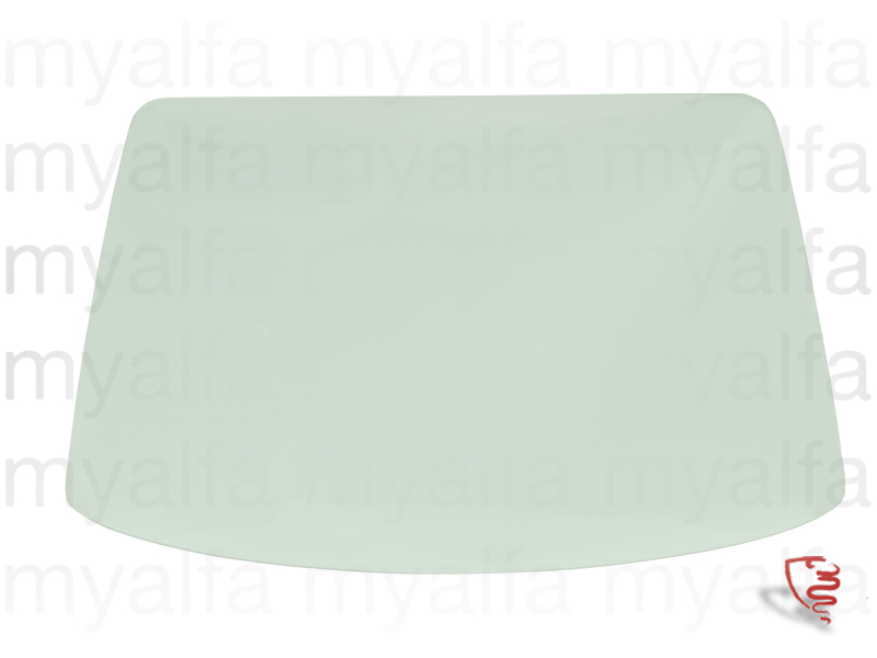 Windshield GTV 116 green for 116/119, Body parts, Glass Parts, Front/Rear Windows