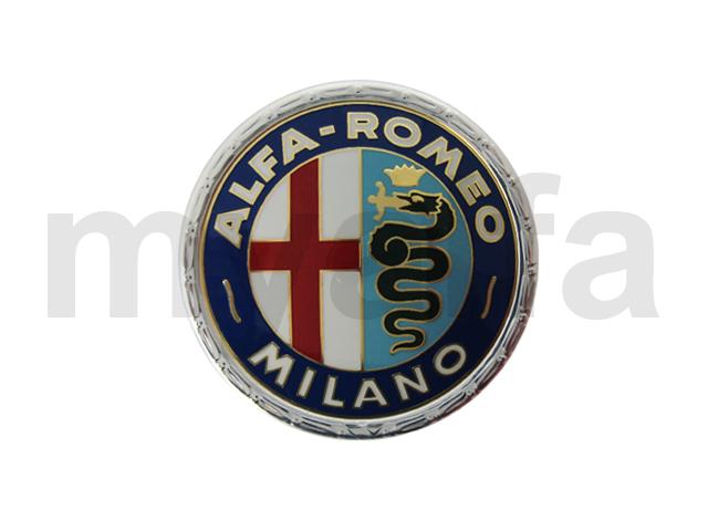 Emblem Alfa Romeo Milano for 105/115, Body parts, Emblems, badges and scripts, Emblems