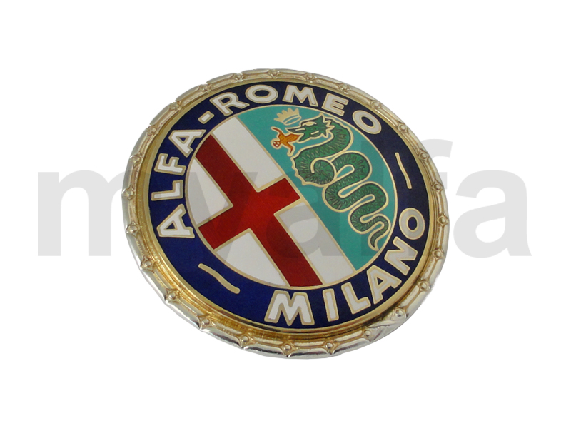 Emblem Alfa Romeo Milano Enamel for 105/115, Body parts, Emblems, badges and scripts, Emblems