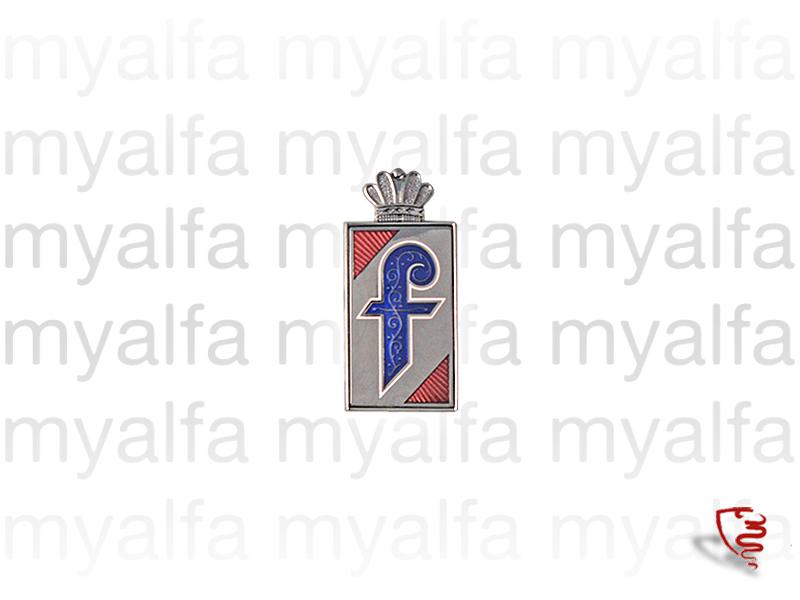 Badge Series 2 pininfarina for 105/115, Spider, Body parts, Emblems, badges and scripts, Emblems