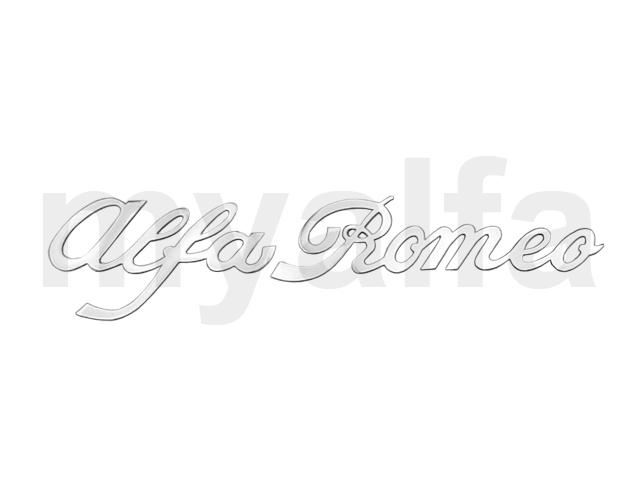 Script 'AlfaRomeo' for Giulia Spider 1966-69 for 105/115, Spider, Body parts, Emblems, badges and scripts, Emblems
