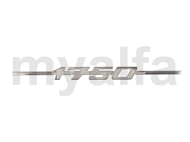 Script 1750 GT Bertone / Spider 1968-69 for 105/115, Coupe, 1750, Body parts, Emblems, badges and scripts, Scripts
