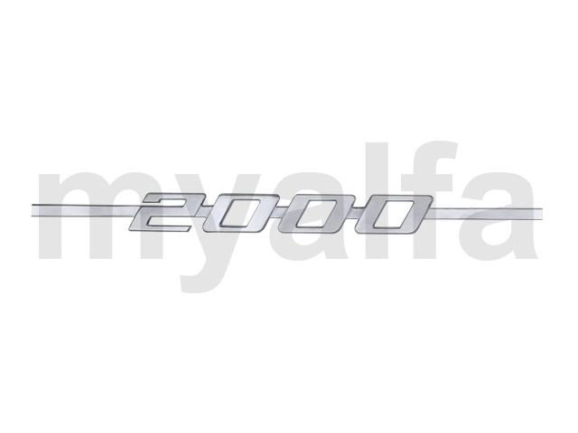 Script 2000 GT Bertone for 105/115, Coupe, 2000, Body parts, Emblems, badges and scripts, Scripts