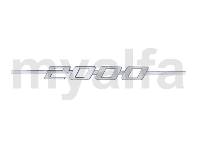 Script 2000 GT Bertone for 105/115, Coupe, 2000, Body parts, Emblems, badges and scripts, Scripts
