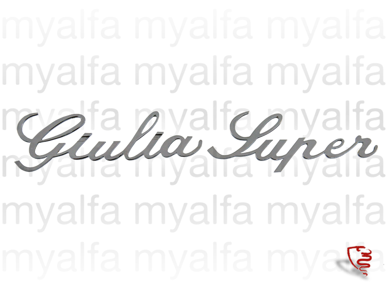 Script 'Giulia Super' for 105/115, Giulia, Body parts, Emblems, badges and scripts, Emblems