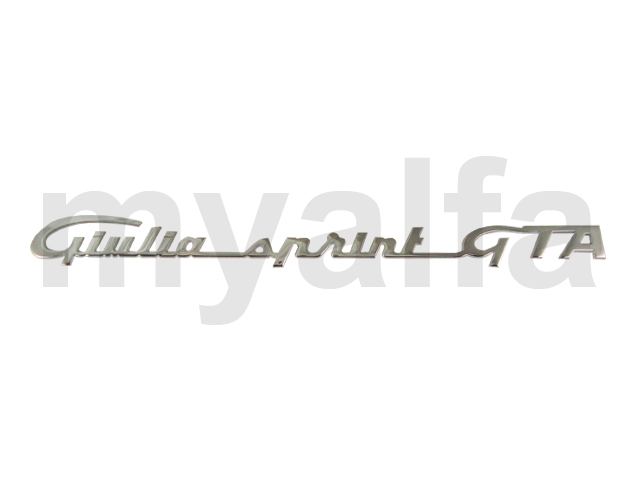Script to Giulia Sprint GTA for 105/115, Coupe, GTA, Body parts, Emblems, badges and scripts, Scripts