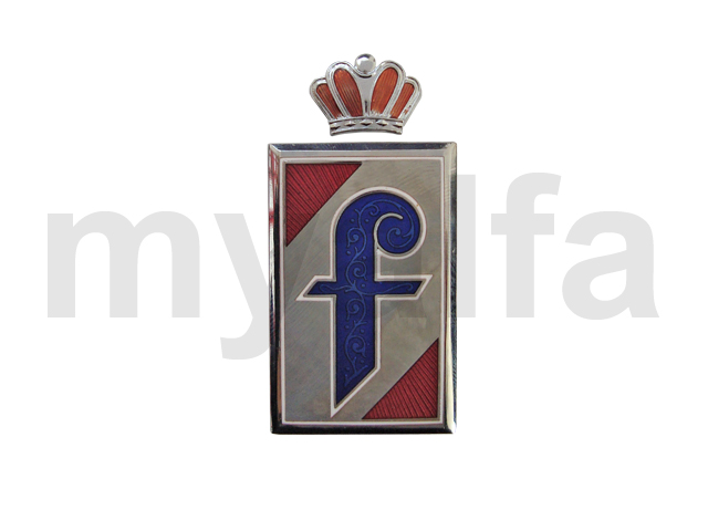 Badge Pininfarina separate side croa for 105/115, Spider, Body parts, Emblems, badges and scripts, Scripts