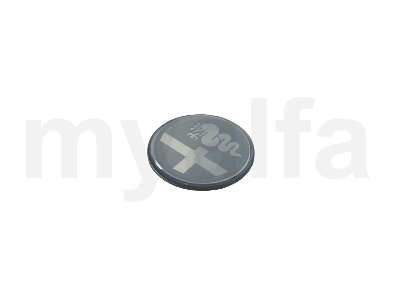 Emblem from the center of the steering wheel - Silver for 105/115, Steering wheels, Steering hubs